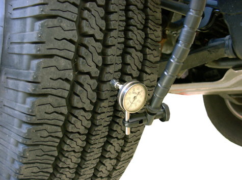 how to fix tire runout